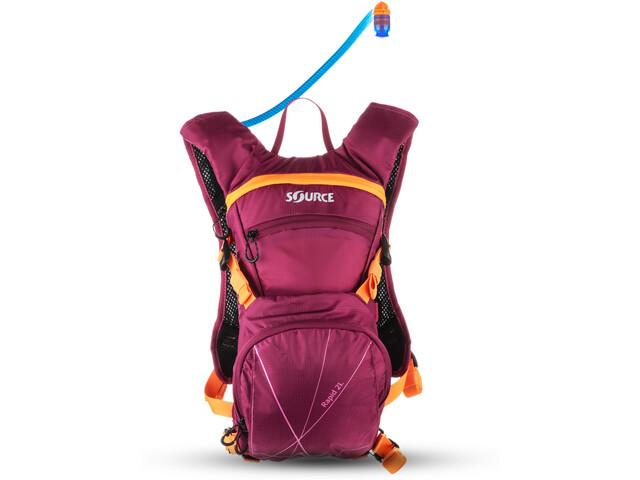 SOURCE Rapid Trinkrucksack 2l Purple